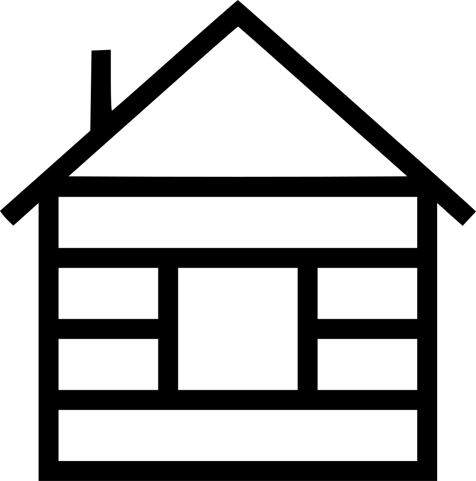 Icicles clipart svg. Wood cabin png icon