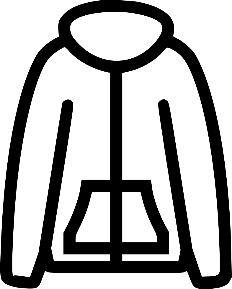 Warm jacket png icon. Icicles clipart svg