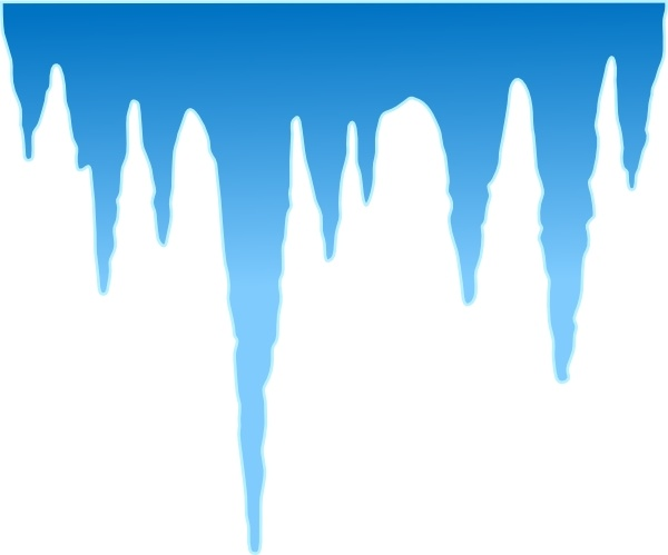 Clip art free vector. Icicles clipart svg