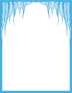 Free cliparts border download. Icicles clipart boarder