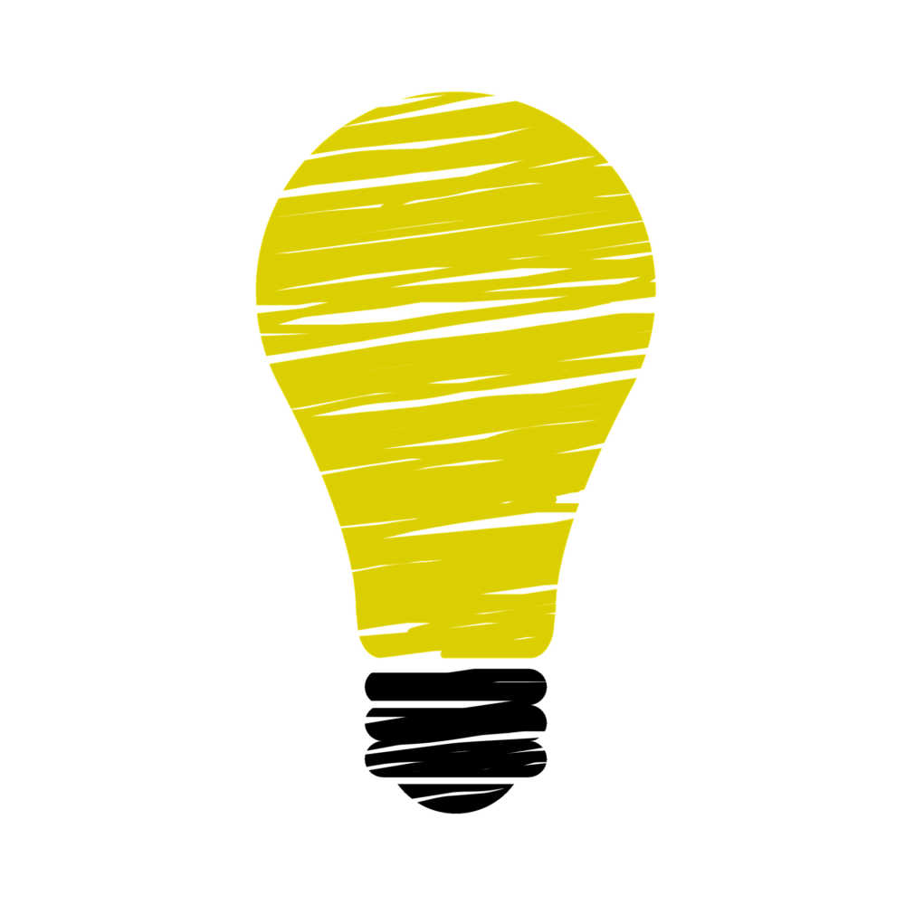 Innovation incandescent bulb idea. Thoughts clipart light blub