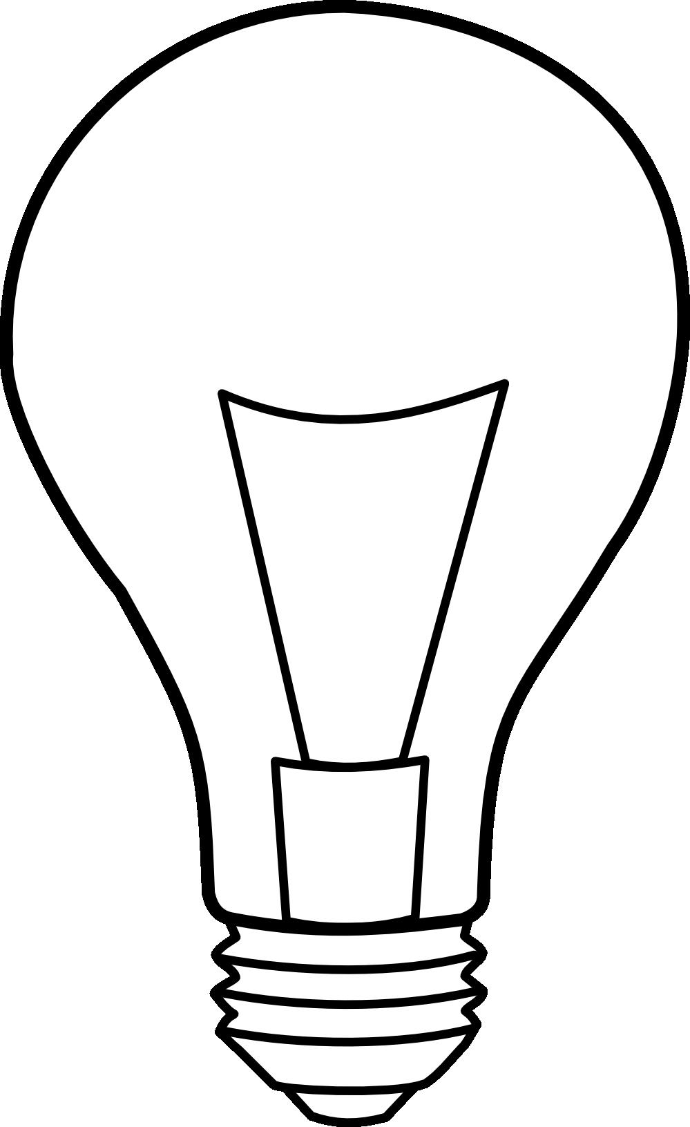 Idea light bulb clip. Lamp clipart shadow
