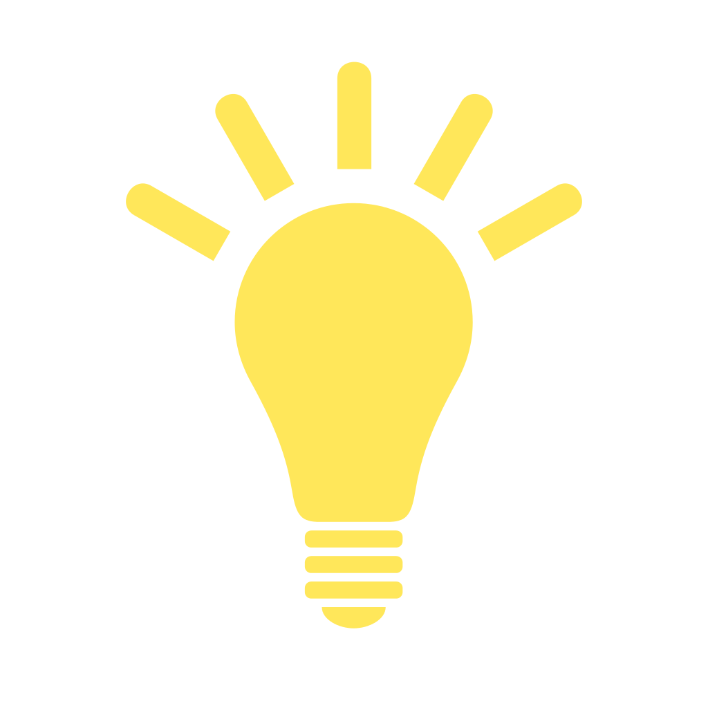 Light bulb icon png.  best idea clipart