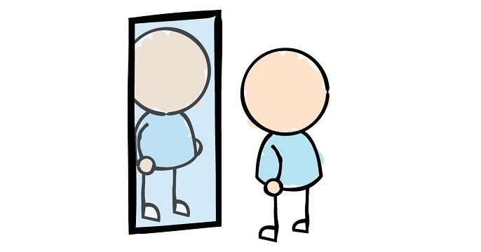 Self free download best. Reflection clipart personal reflection