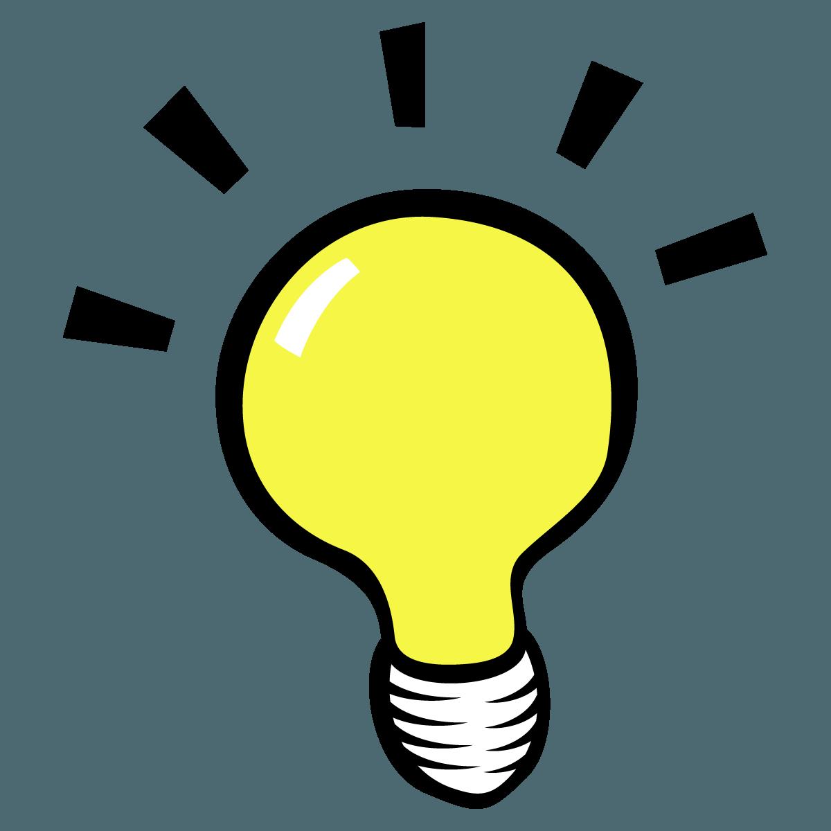 A few ideas boon. Idea clipart thought