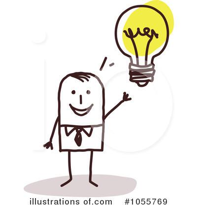 Idea clipart understanding person. Illustration by nl shop