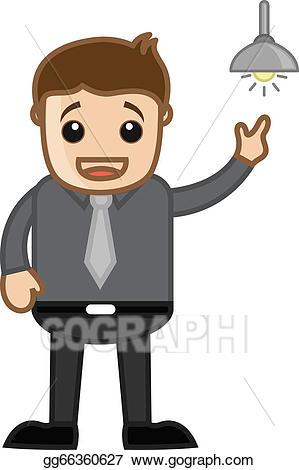 Idea clipart understanding person. Vector art man got