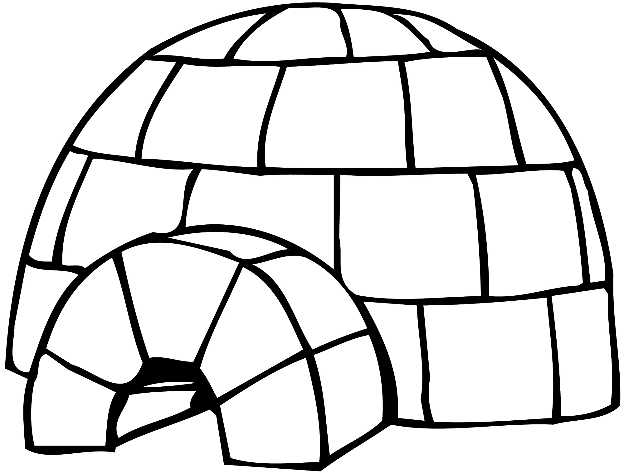 Igloo clipart. Free cliparts download clip