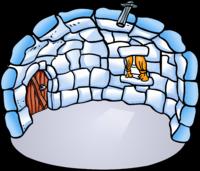 Igloo clipart arctic. Discussion d igloos club