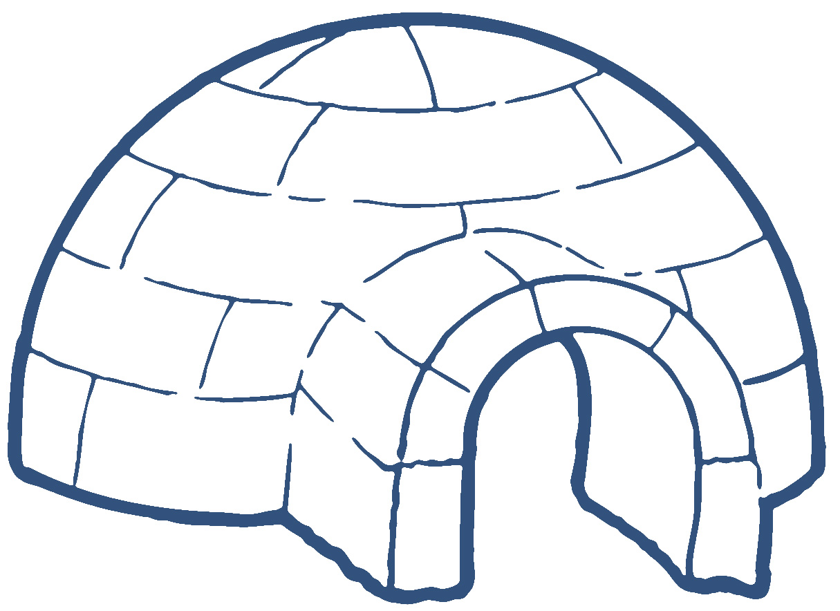 Igloo clipart cute. Free cliparts download clip