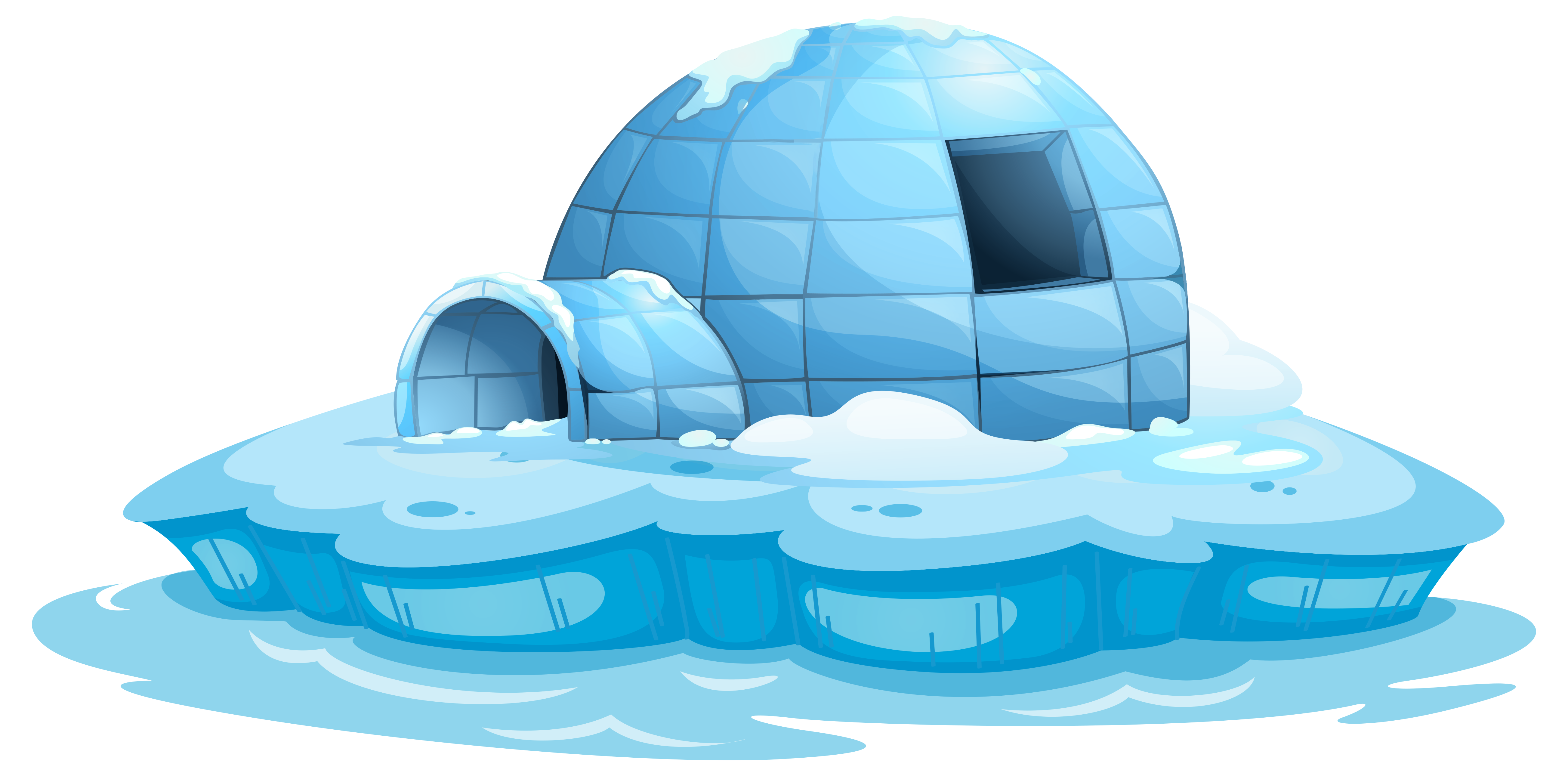 Igloo clipart cute.  collection of png
