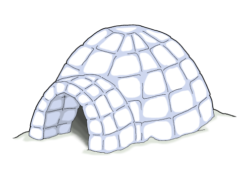 Free pictures download clip. Igloo clipart diagram