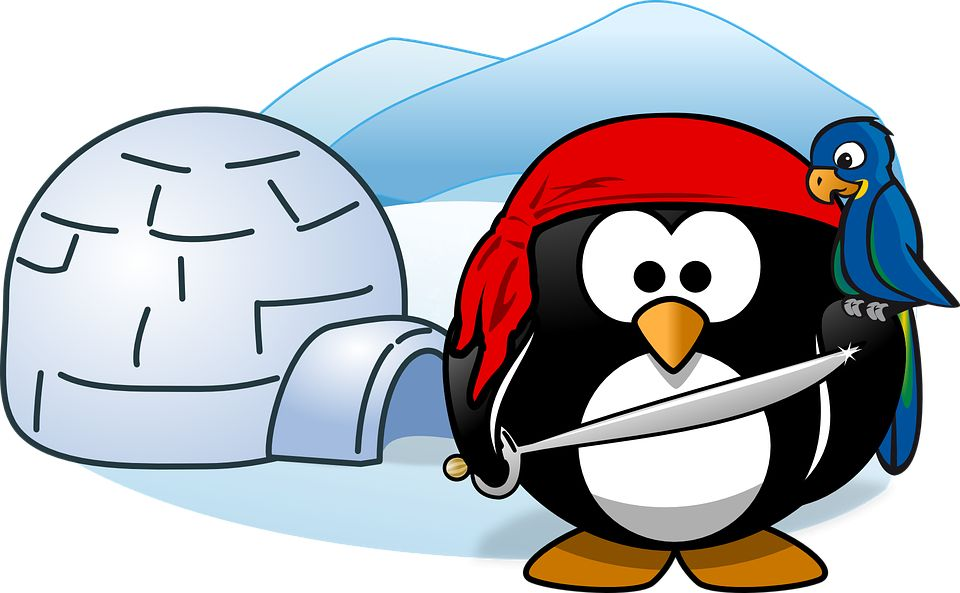 Igloo clipart infront. Pirate pictures pirates