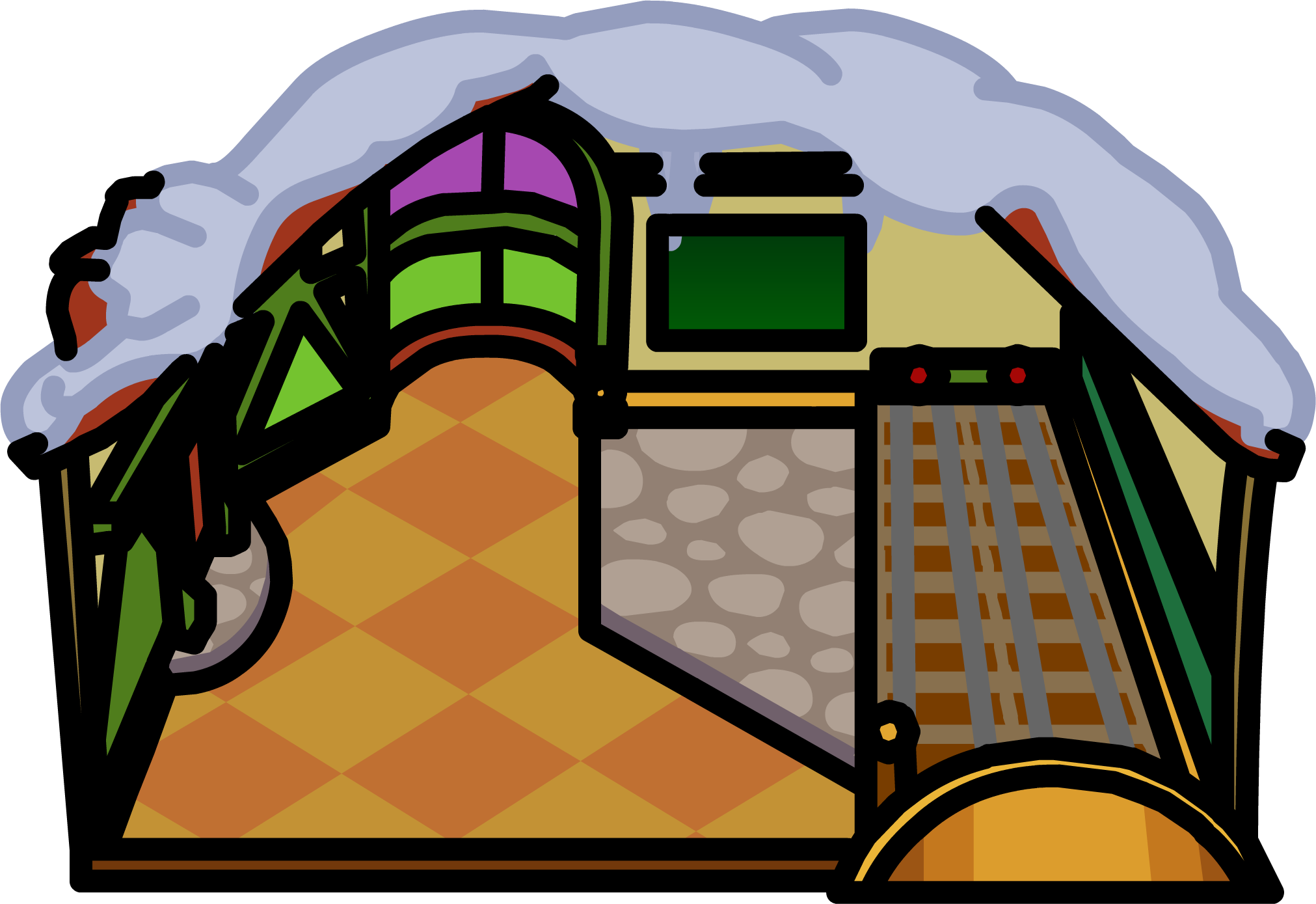 Igloo clipart man. Image buildings icons png