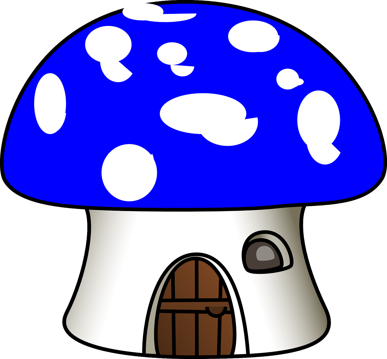 Igloo clipart real. Mushroom house clip art