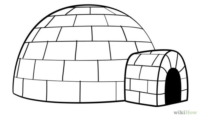 Igloo clipart simple, Igloo simple Transparent FREE for ...