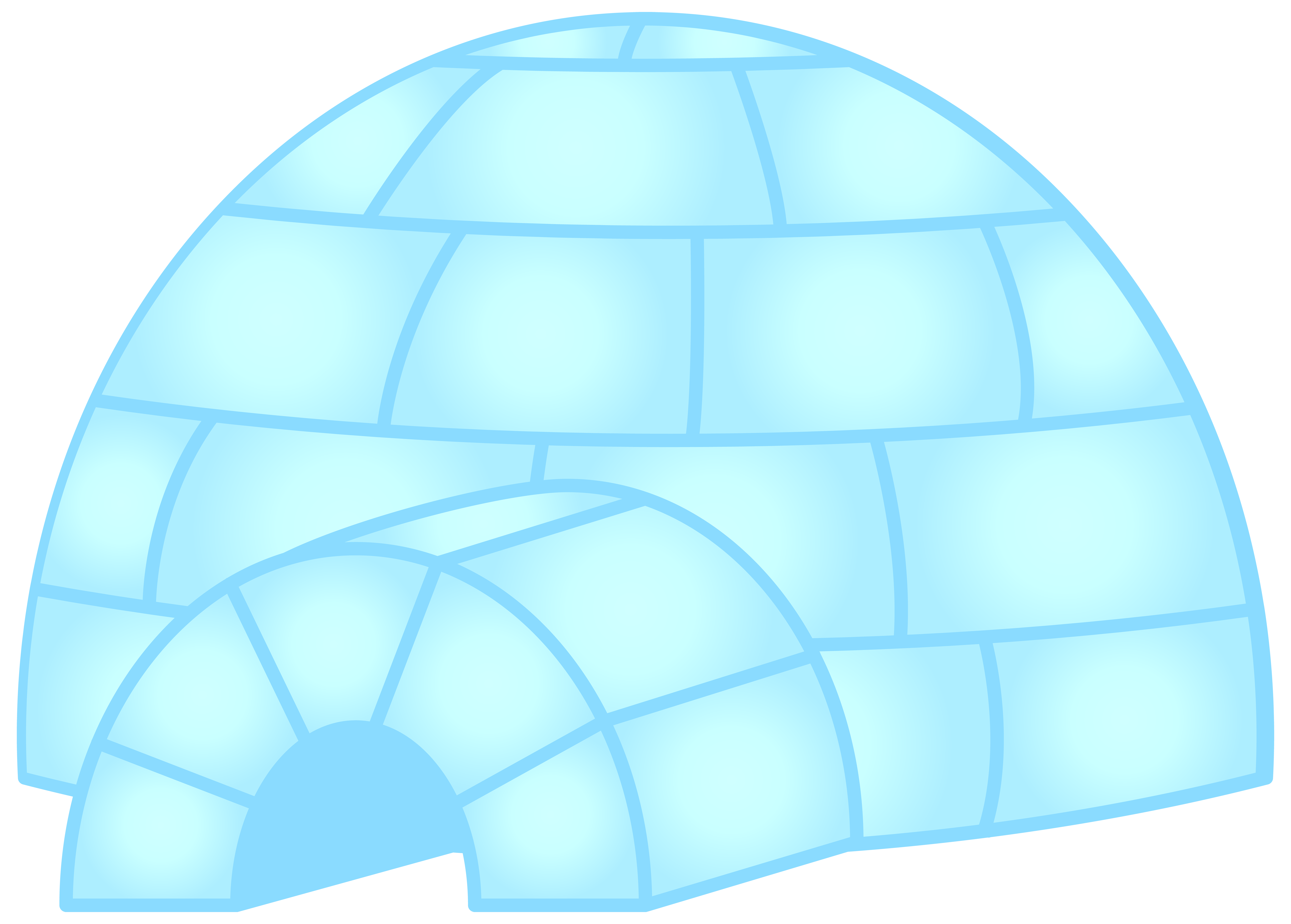 Png clip art gallery. Igloo clipart transparent background