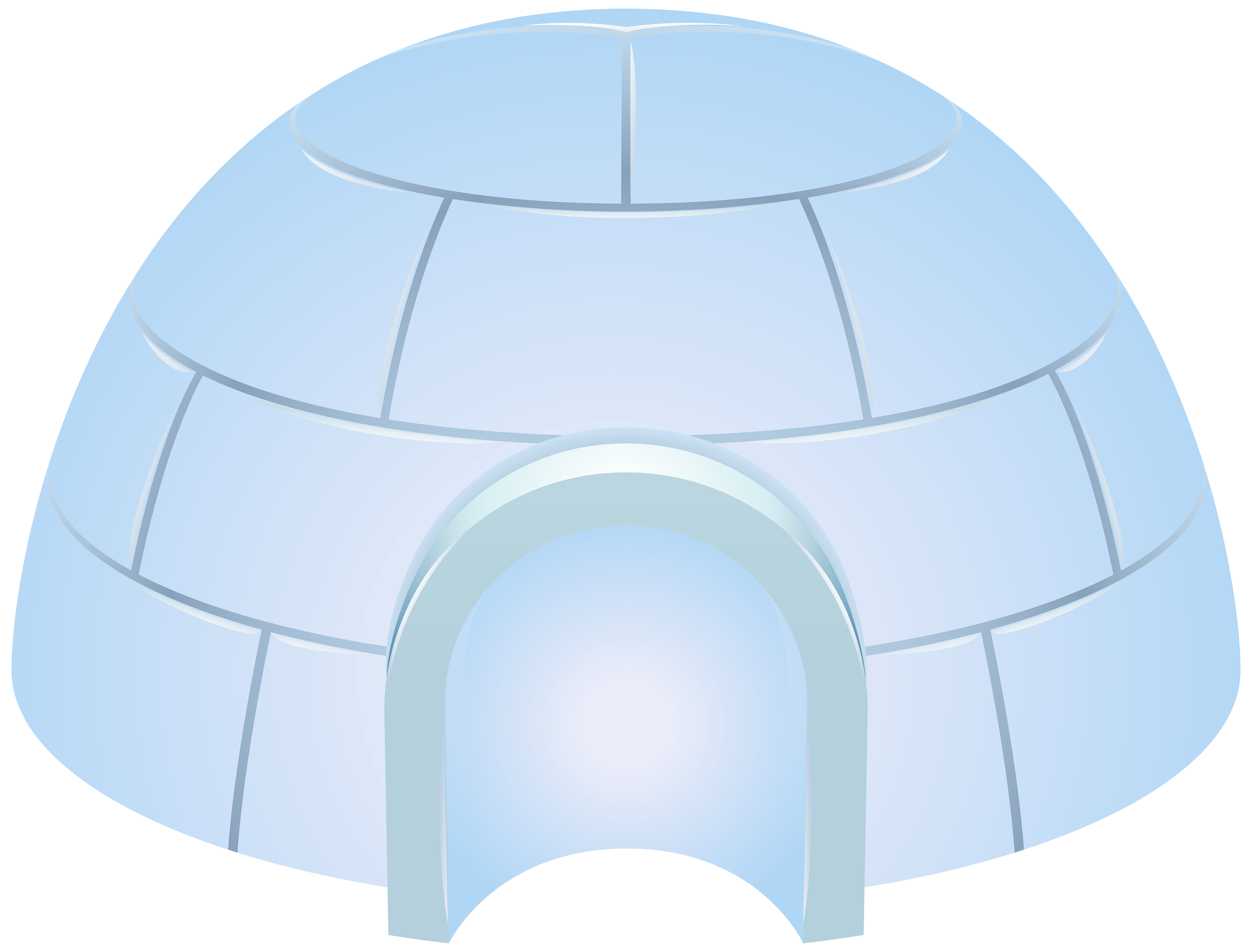 Igloo clipart transparent background. Icehouse png clip art