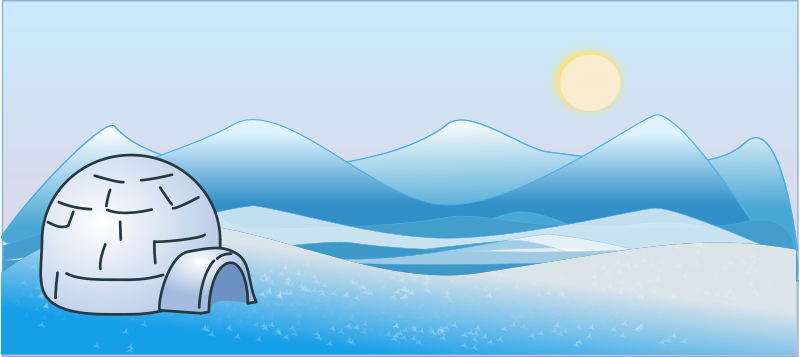 Free arctic cliparts download. Igloo clipart tundra
