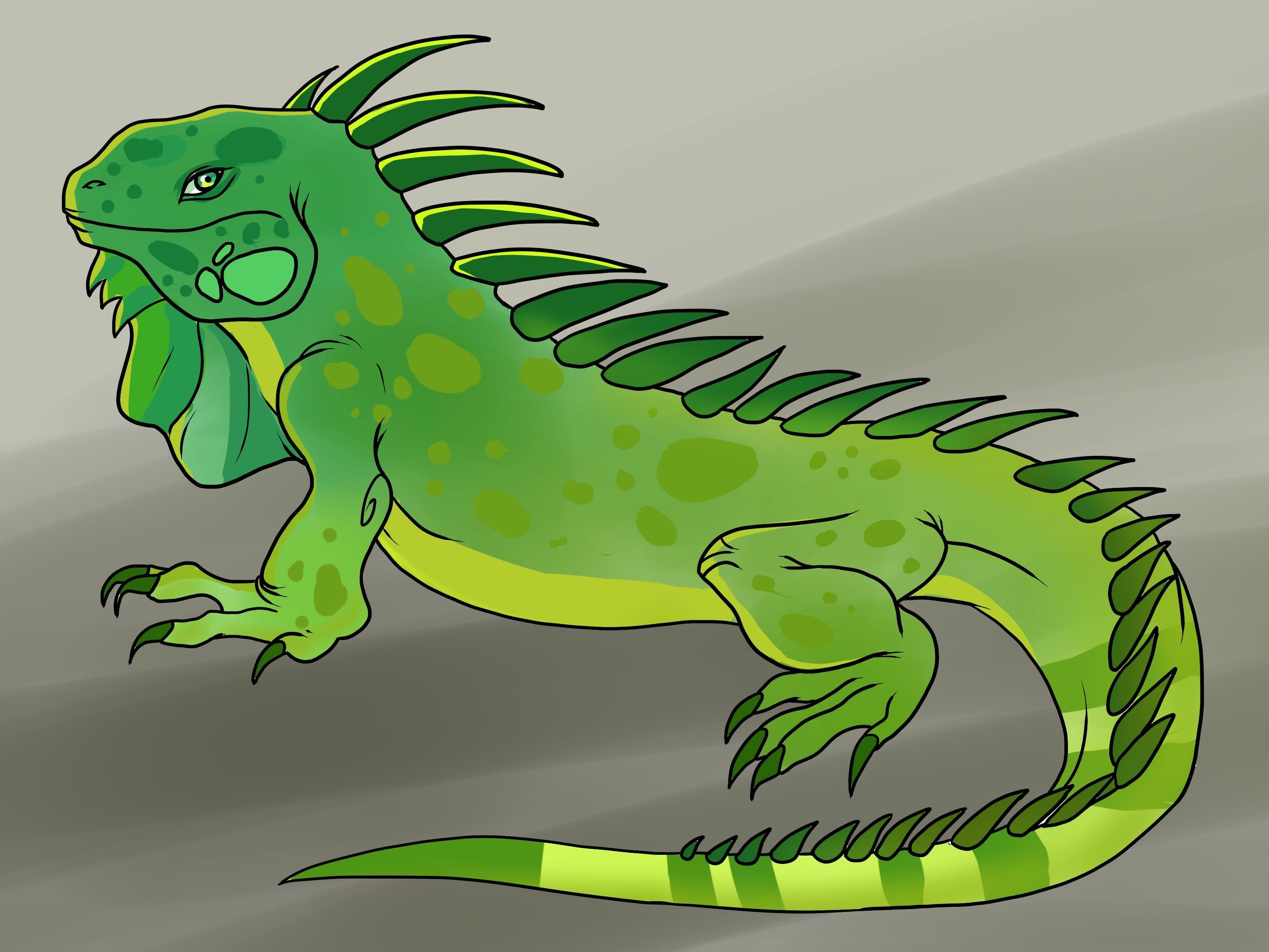 Iguana clipart. Google search doodles pinterest