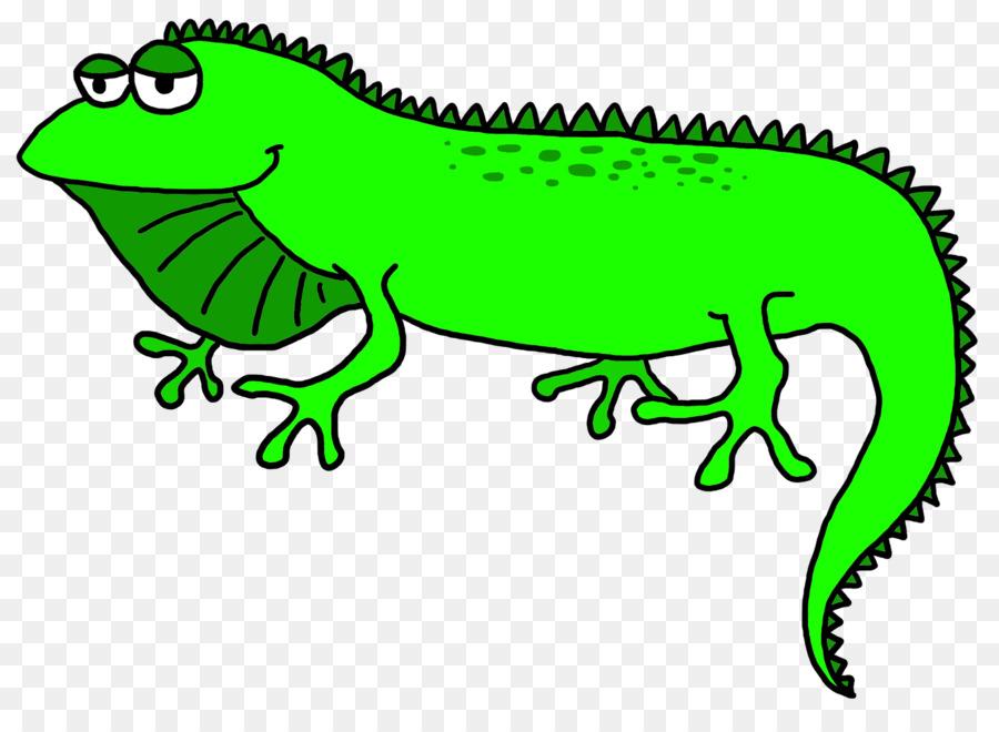 Iguana clipart. Lizard green clip art