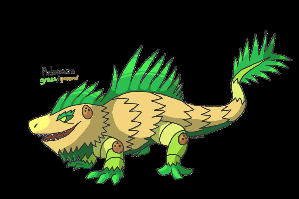Iguana clipart yellow green. Fakeathon day palm tree