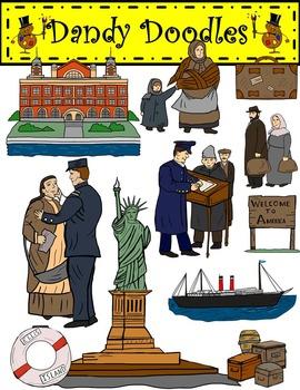 Immigration clipart. Ellis island clip art