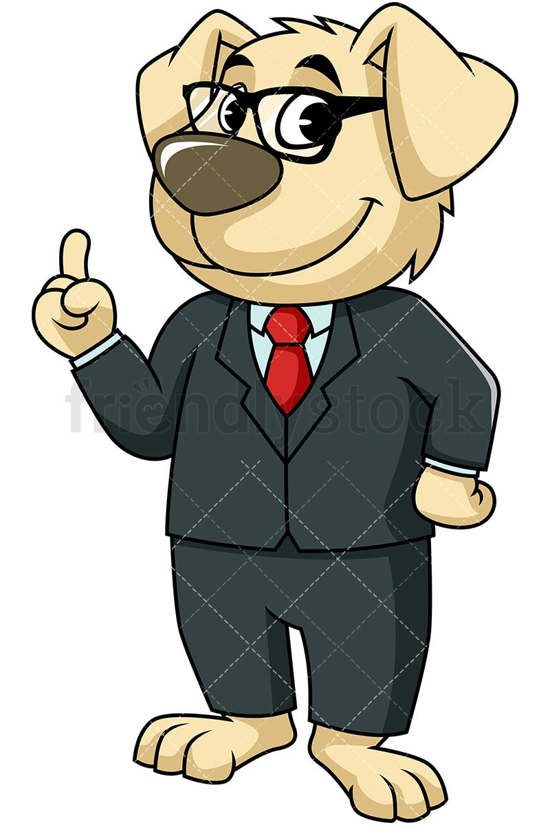 Dog mascot character making. Important clipart animated