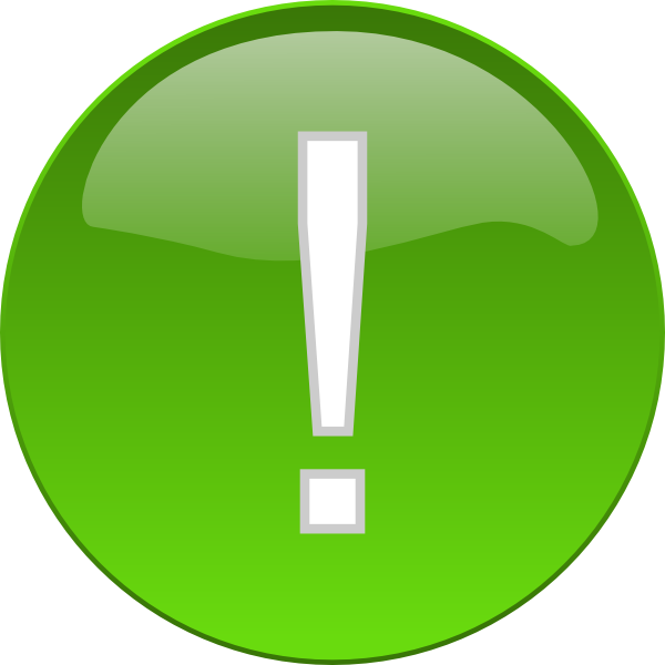 Important clipart exclaimation. Exclamation button clip art