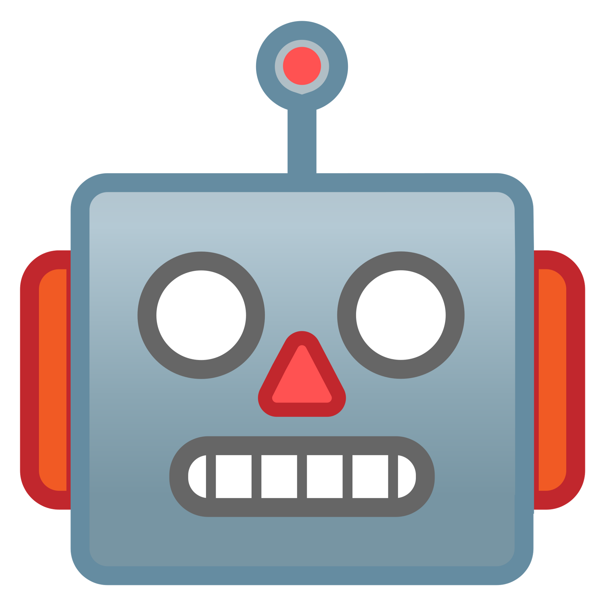 A tale of bots. Important clipart gentle reminder