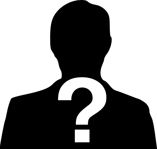 Who do you think. Important clipart important person