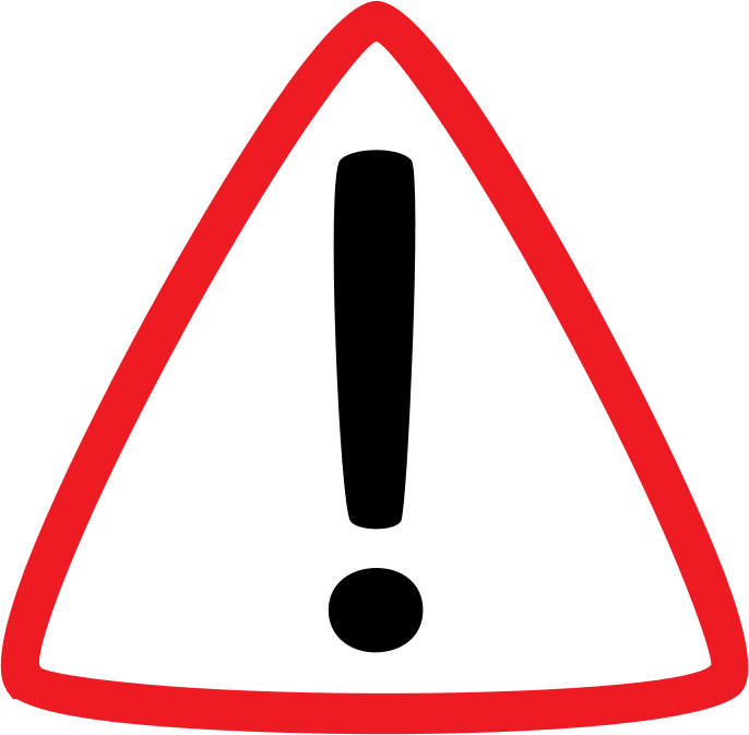 Important clipart important point. Warning medium image png