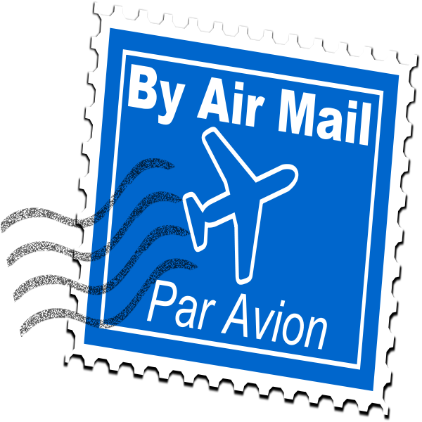 Important clipart important stamp. Mail from