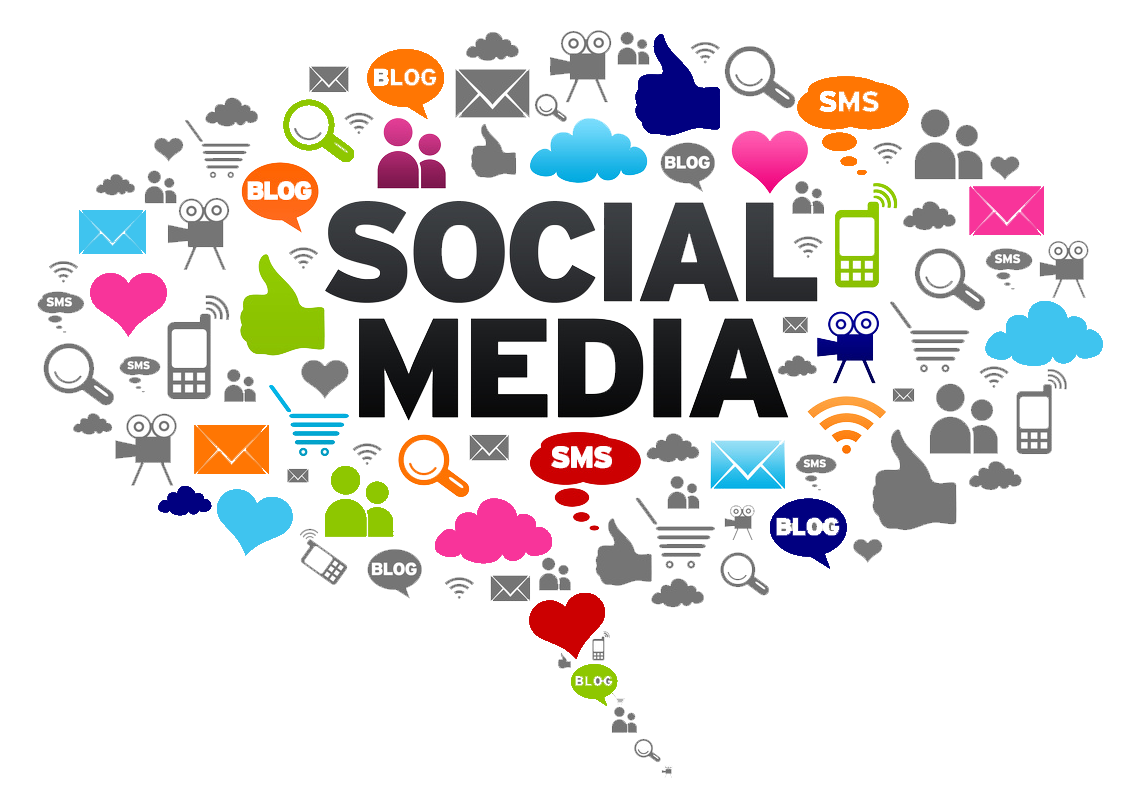Tampa media marketing small. Important clipart social message