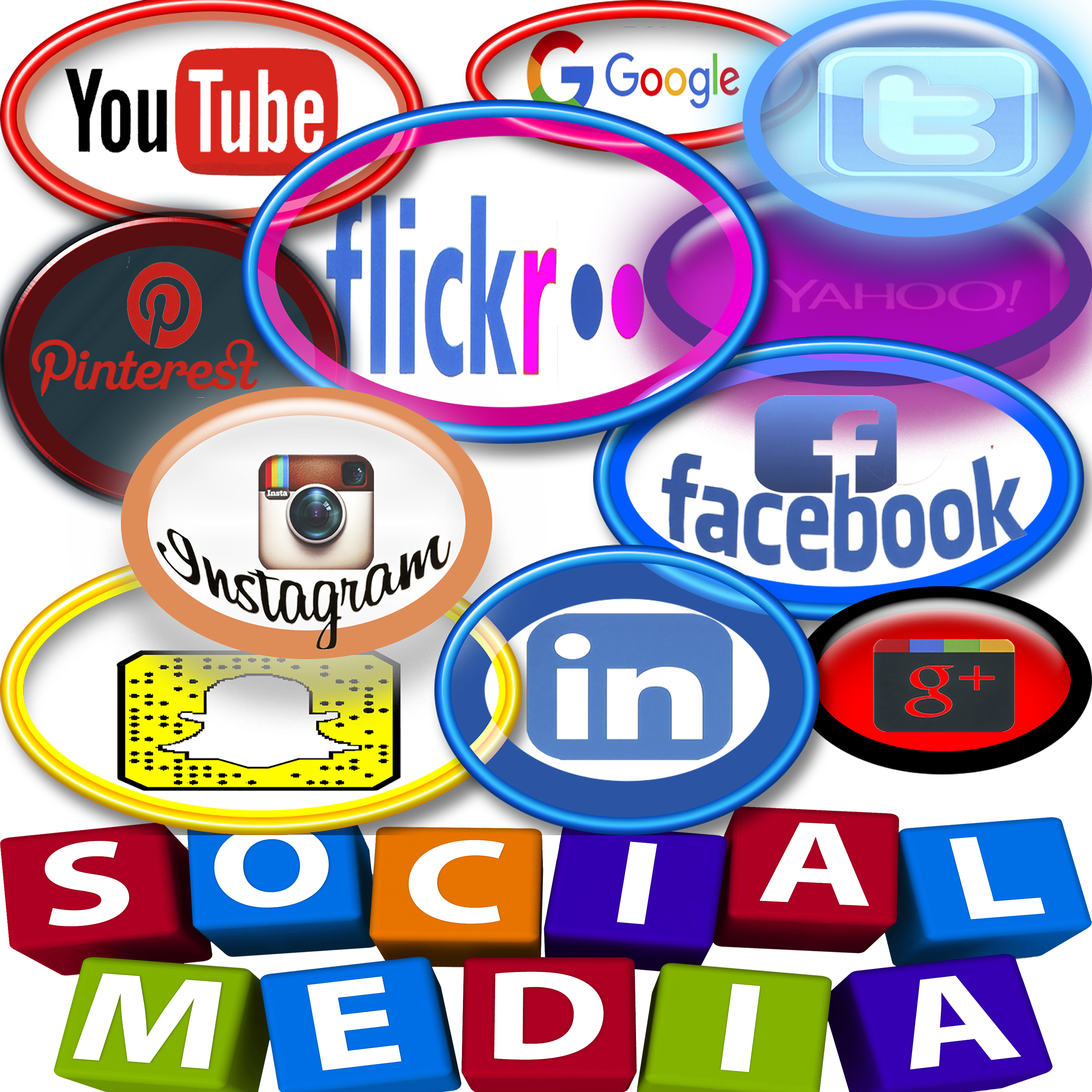 Business media pages digital. Important clipart social message