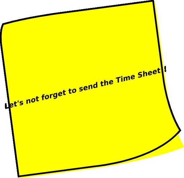 Mail clipart reminder. Timesheet clip art at