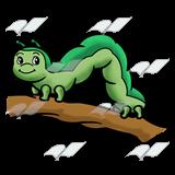 Abeka clip art on. Inchworm clipart
