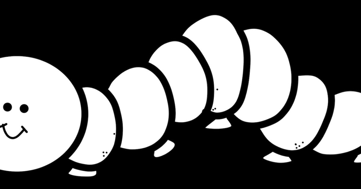 Inchworm clipart. Educlips design free graphic