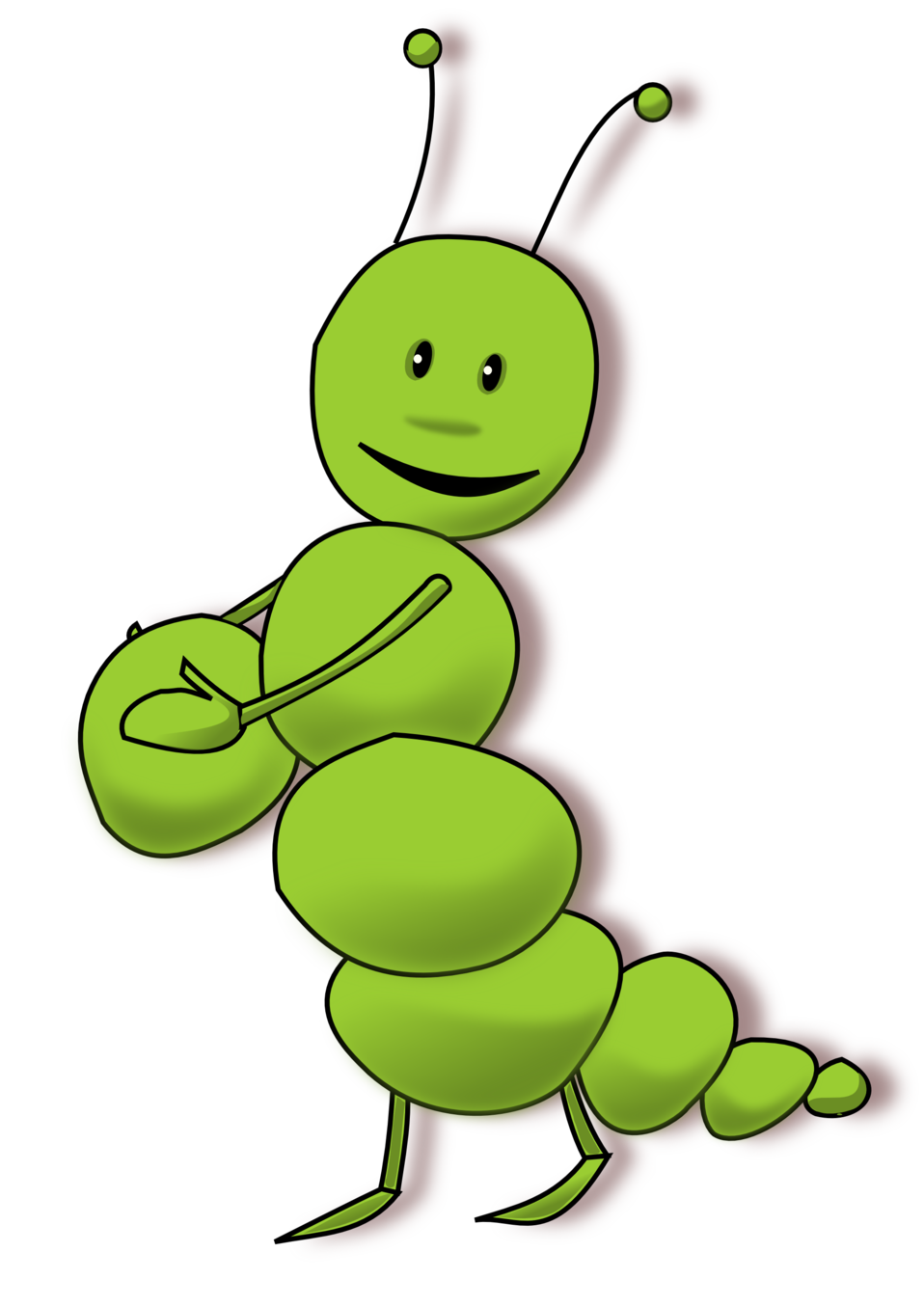 Collection of clip art. Inchworm clipart caterpillar baby