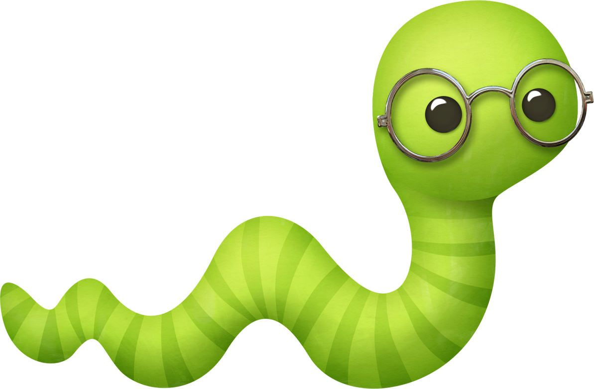 Worm clipart adorable. Pin on charley bugs
