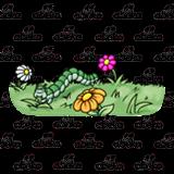 Inchworm clipart gardener. Garden