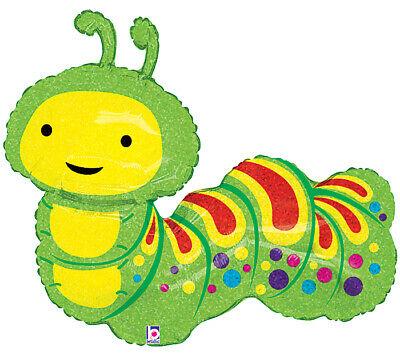 Jumbo caterpillar worm garden. Inchworm clipart gardener