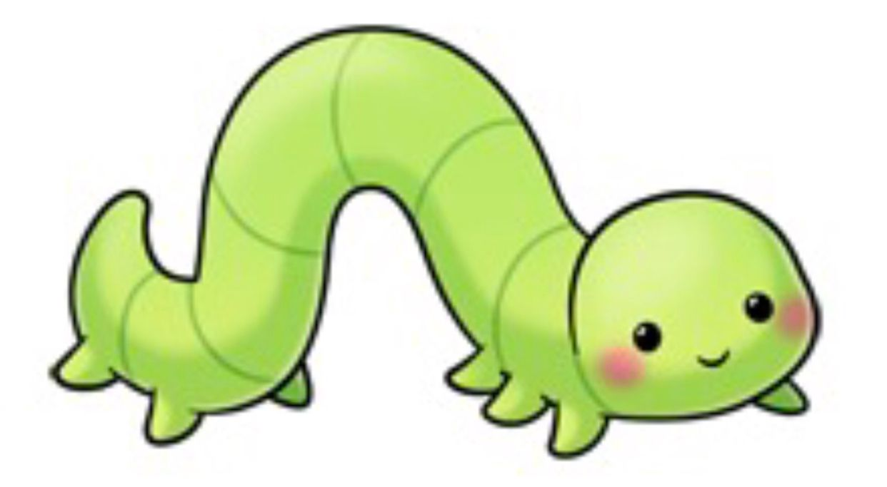 Inch best drawings comics. Worm clipart inchworm