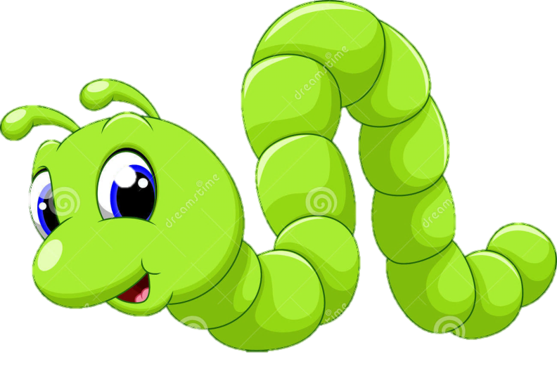 Inchworm clipart happy, Inchworm happy Transparent FREE ...