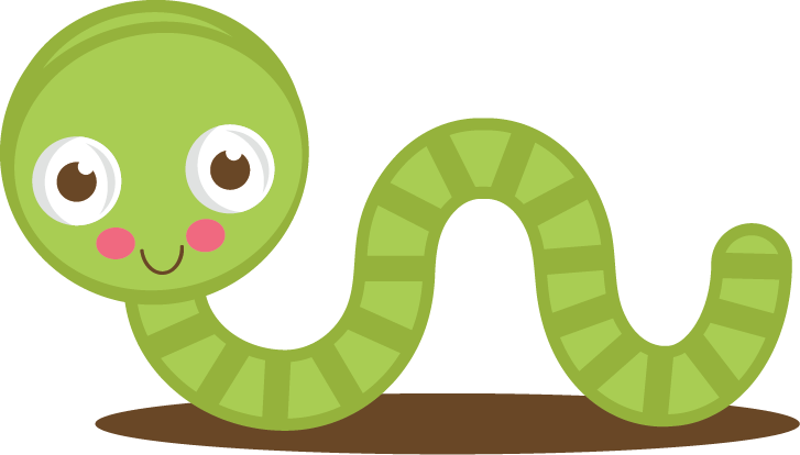 Worm clipart cute. Free inch cliparts download