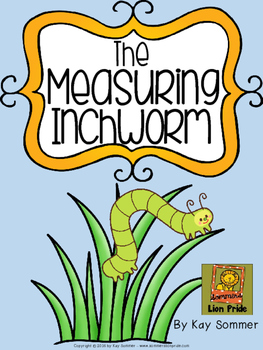 Measuring with inchworms worksheets. Inchworm clipart measurement