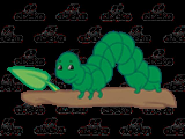 Inchworm clipart measurement. Free download clip art
