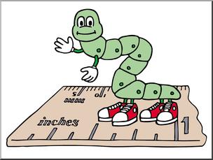 Inchworm clipart teacher. Clip art cartoon color