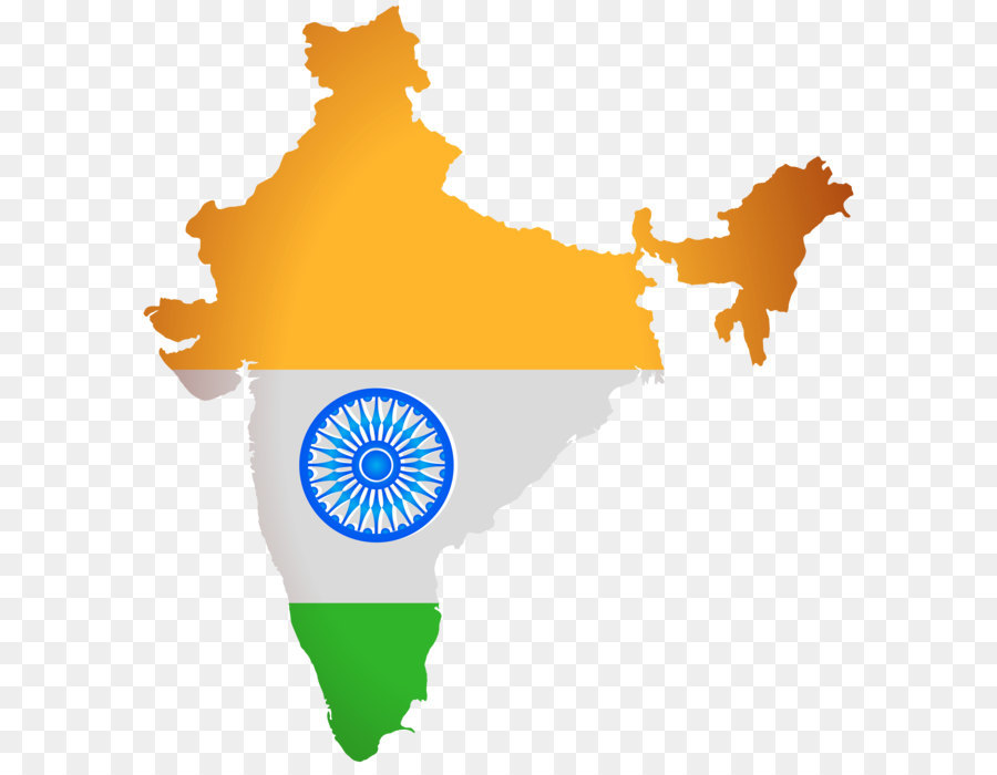 Map stock photography illustration. India clipart