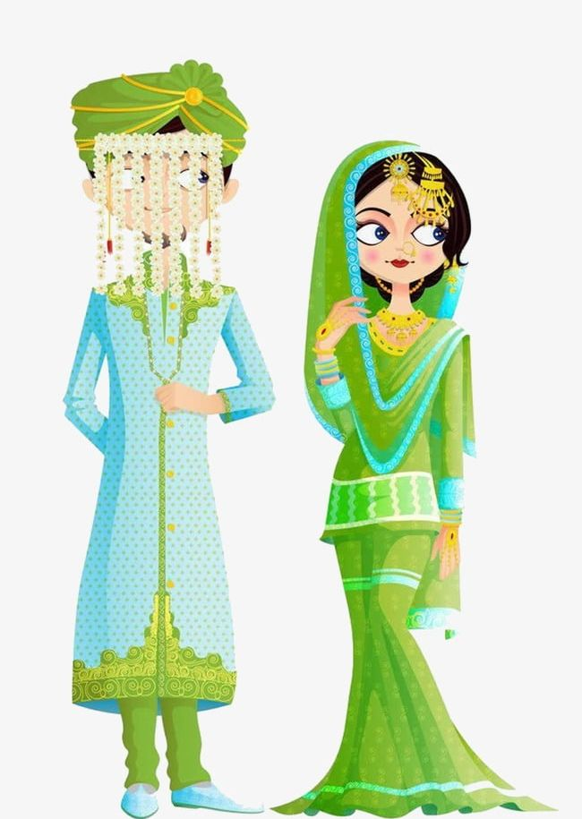 India clipart clothes. Traditional indian wedding dress